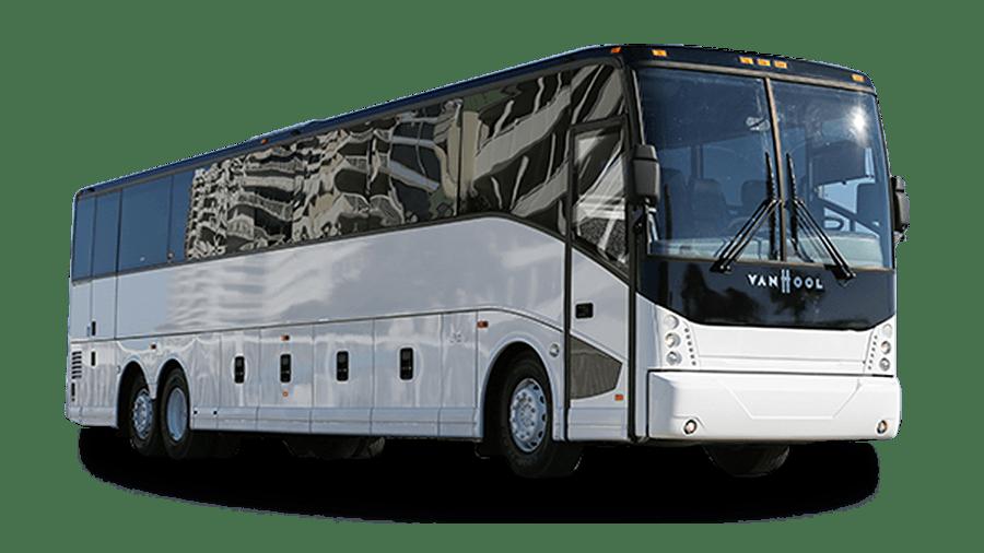 56 Passenger Charter Bus Rental Ally Charter Bus