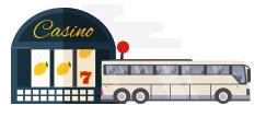 Casino bus rental